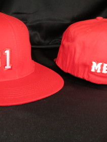 Support 81 Hat Red Front-Back 1